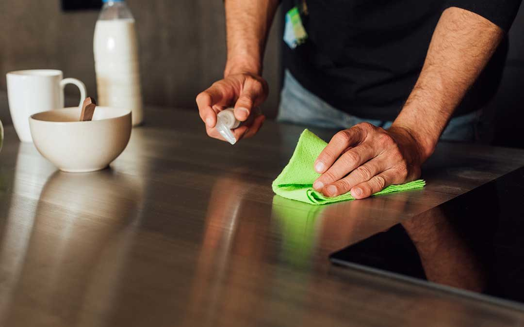 Keeping Your Kitchen and Bathroom Sanitized